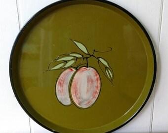 LOVE SALE vintage fruit tray Japan green