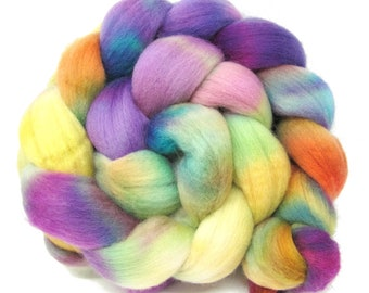 Merino Wool Hand Dyed Fine Combed Top 21 Micron 100gms - FM53