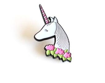Unicorn enamel pin   limited edition