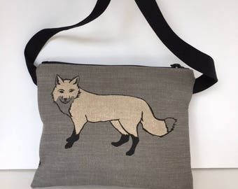 Fox Passport Bag
