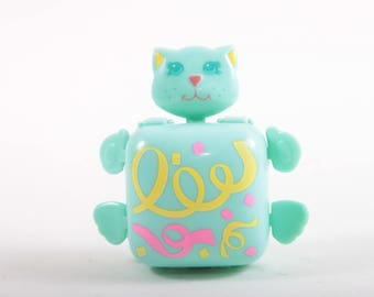 Sweet Secrets, Charms, Green Cat, Vintage, Toy, Galoob, Small Case, Miniature, Container, Box, Cosmetics Charm Blush ~ The Pink Room ~ SS004
