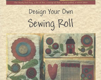 Design Your Own Sewing Roll ~ Paper Pattern