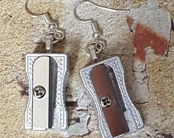 Pencil Sharpener Earrings