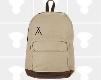 Laptop Backpack - Variety of Camping Graphics