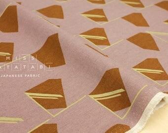 Japanese Fabric Kokka 3 min. - window light - dusty pink - 50cm