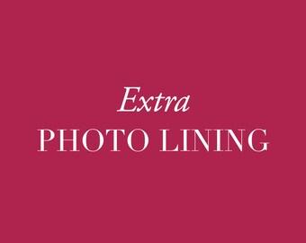 Extra Photo Lining
