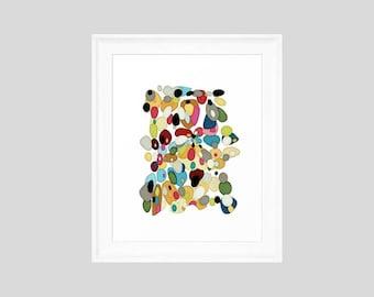 Retro Art Print, Framed Art Print, Framed Abstract Art, Abstract Art Print, Framed Retro Art, Framed Abstract, Retro Print, Retro Art