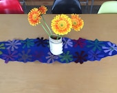 RESERVED for janet - two felted table runners