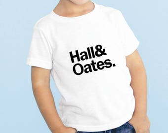 Hall and Oates Baby or Toddler Gift Set T-Shirt & Optional Gift Box