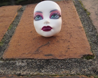 Upcycled Spectra Vondergeist Monster High  -  1 adjustable doll face ring