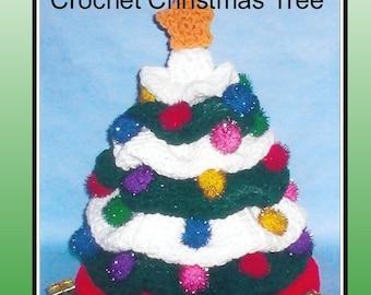 Crochet Christmas Tree Pattern, Christmas tree, crochet tree, crochet pattern
