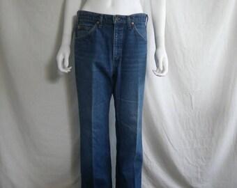 Closing shop SALE 40% off Vintage LEVIS 517 Jeans 32 Waist Orange Tab