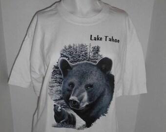 Closing Shop 40%off SALE Lake Tahoe Bear t shirt