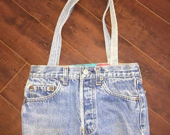 Closing Shop 40%off SALE LEVIS 501 vintage 80s  Jean purse