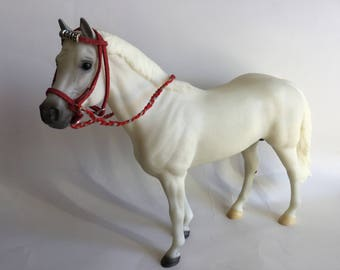 Model Horse bridle fancy western bridle for traditional 1:9 scale horse
