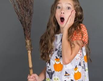 Baby Halloween Outfit - Baby Outfit- Baby Halloween Owl Shirt - Baby Halloween Outfit - Toddler Outfit - Halloween Outfit -Halloween Dress