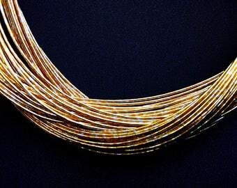 Mizuhiki Japanese Decorative Paper Strings Cords METALLIC Gold And Silver