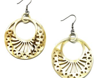Horn Earrings - Q6138