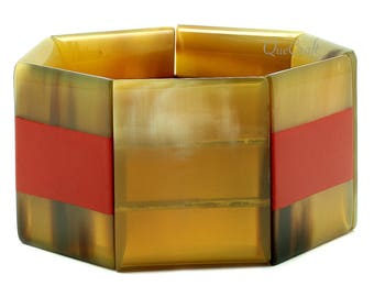 Horn & Lacquer Bracelet - Q12850-R