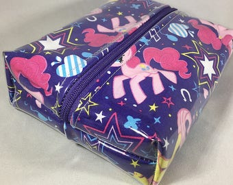 Make Up Bag - My Little Pony Box Shaped Cosmetic Bag