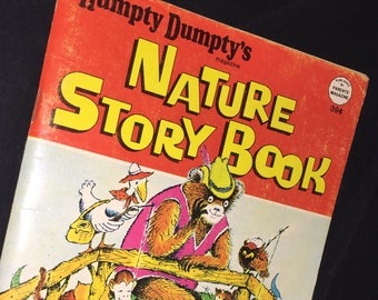 1972 Humpty Dumpty's Nature Story Book