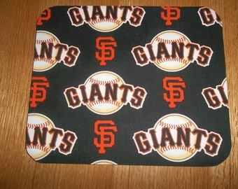 San Francisco Giants Mouse Pad Mouse Pads Desk Accessories, Baseball MousePad Rectangle Mouse Mat Office Decor Handmade Computer Accessories