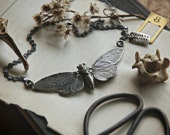 RESERVED FOR BETHANYALEMAN - Cicada Necklace