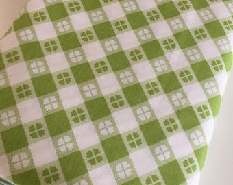 Picnic Fabric, Plaid fabric, Fabricshoppe GlamperLicious fabric, Quilting fabric by Riley Blake, Gingham in Green, Choose the cut