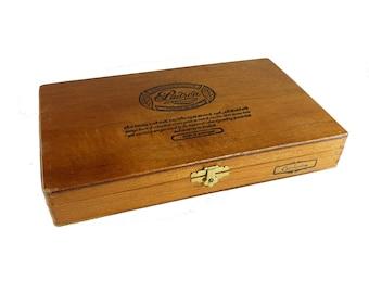 Wooden Dovetail Hinged Cigar Box Padron Cigars 1964 Anniversary Series