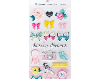 Icon Maggie Holmes Chasing Dreams Puffy Stickers (375953)