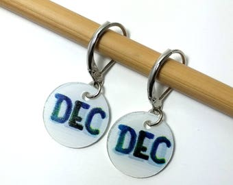 DECREASE, Removable Stitchmarkers for Knitters or Crocheters