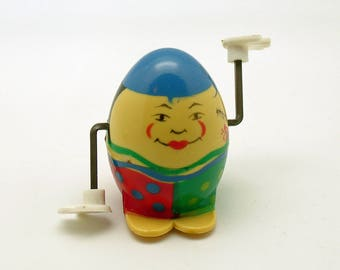 Vintage Humpty Dumpty Wind Up Borgfeldt