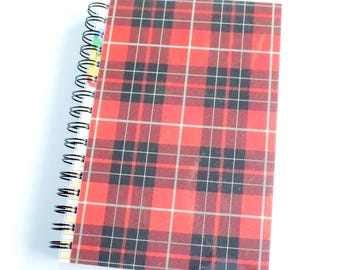 Plaid Journal // Sketchbook