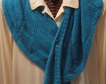 TURQUOISE Bliss Pure Cashmere Scarf