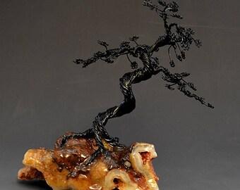 Bonsai Aluminum Wire Tree Art Sculpture - 2306  - FREE SHIPPING