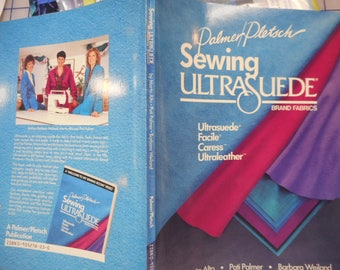 Palmer & Platsch Sewing Ulstrasuede - clearance
