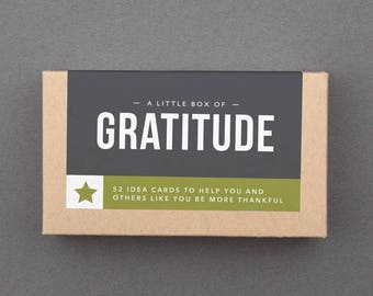 """Stocking Stuffer. Small, Cute, Affordable, Budget Gift Under 20. 25. Fun, Grateful, Thankful. For Friend, Woman, Family. """"Gratitude"""" (L5GRA)"""