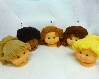 "Sweet Love Kids Doll Heads Approx. 4 1/2"" Steal Your Heart Away Vintage Choice of ONE"