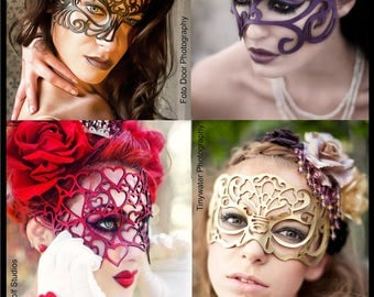 Masquerade Surprise -- A grab bag of masks