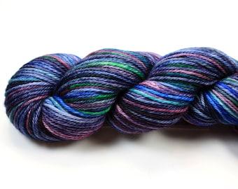 Dream Weaver--hand dyed worsted weight, merino superwash (218yds/100gm)