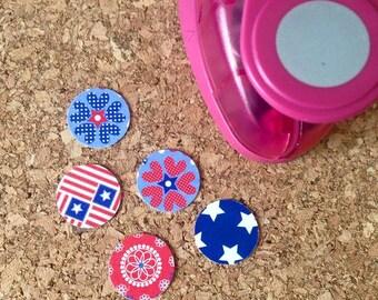 16mm cercle trou Punch Shaper autour de 5/8 pouce Scrapbooking pendentif découpes petits cercles parfaits rend
