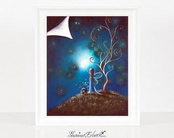 Where Dreams Happen - Fairy Pictures - Fairy Prints - Fine Art Print - Art - Bedroom Decor - Home Accents - Bedroom Art - Teen Gifts - 8x10