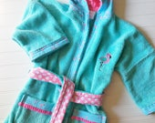 Personalized-Girls-Bath-Robes-Bathrobes-Pink-Flamingo-Children-Beach-Hooded-Towels-Swimwear-Terry-Beach-Cover-Up-Baby-Toddler-Kids-Teen-Gift