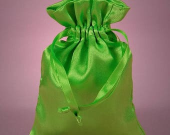STOREWIDE SALE 12 Pack  4 X 6  inch Satin Drawstring Bags Inch Size Great For Gifts, Favors, Sachets, Weddings
