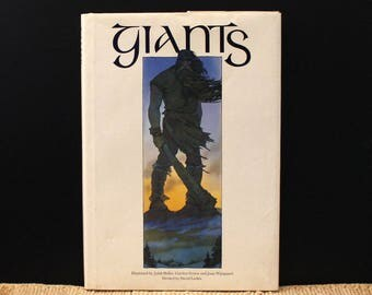 Giants. Vintage 1970s book by Peter Dickinson. First US Edition.