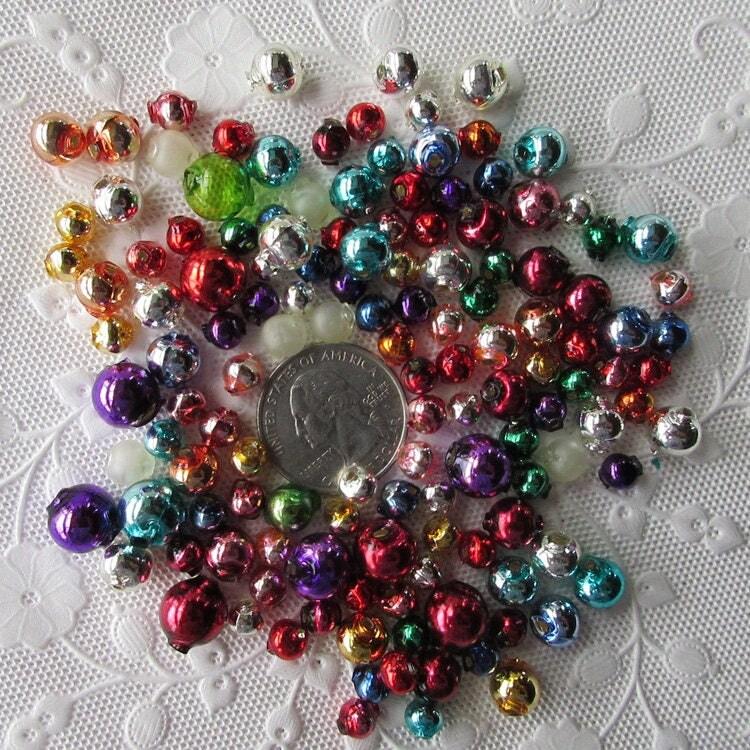 Glass garland beads christmas bead czech republic