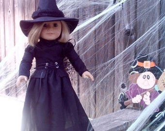 Witch Costume fits American Girl doll clothes