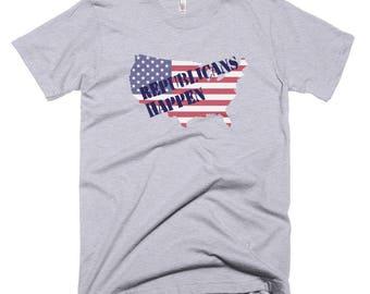 Republicans Happen Short-Sleeve T-Shirt