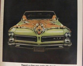 Pontica #159  Pontiac     Magazine Ad -  1965