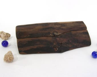 Live Edge Black Walnut Box, proposal box, engagement ring box, ring bearer box, bracelet box, jewelry box, 5th anniversary, office desk art
